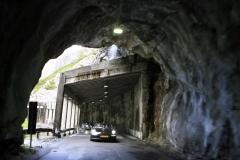 Leg 2, 6 dramatic tunnels at the passo dello Stelvio