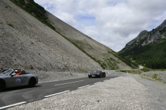 Leg 3, a mountain pass with two different faces