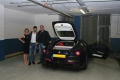 Special guest lead designer Ferrari ontmoet eigenaar Ferrari F12