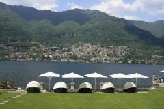Cruise to dag 1, het CastaDiva Resort & Spa aan het Comomeer