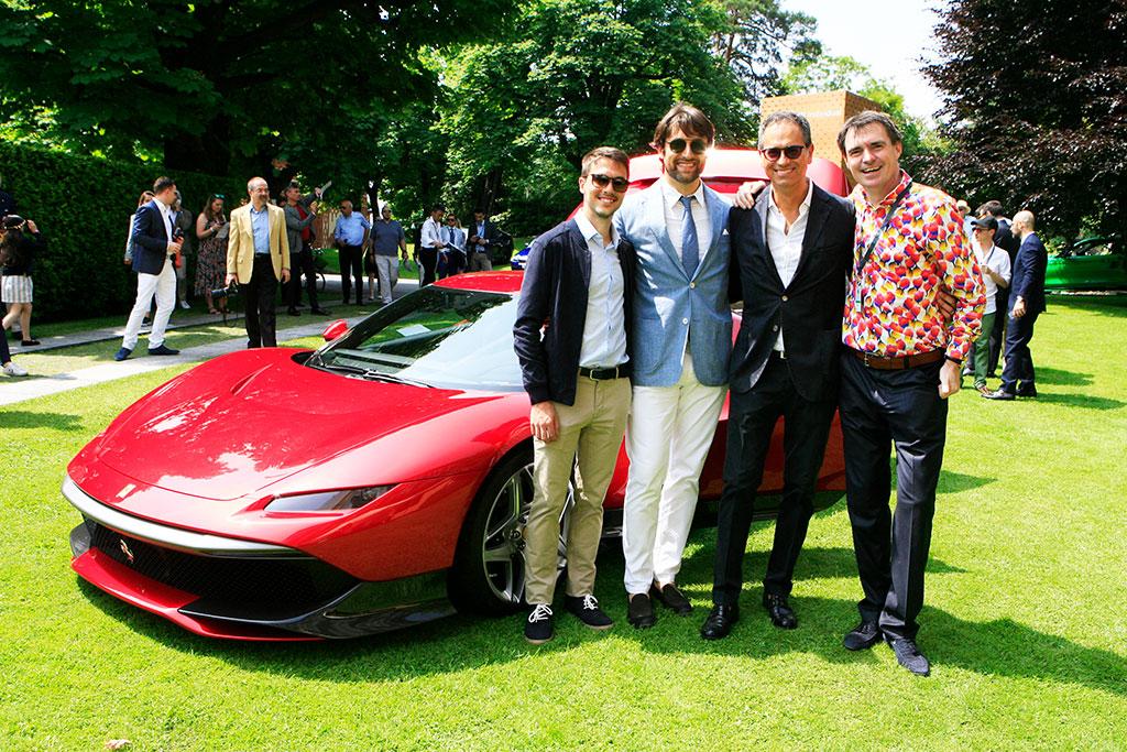 Ferrari SP38 Deborah worldpremiere