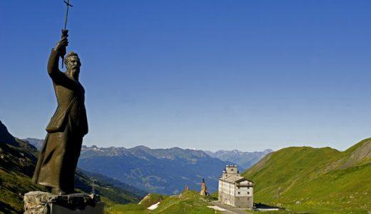 col du Petit Saint Bernard, Savoie, Val d'Aoste