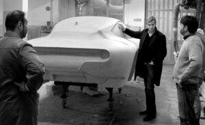 Touring Superleggera designstudio (clay model Disco Volante)