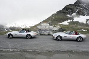 col de L 'ISERAN hoogtepunt tijdens de Cruise to Se7en 2007 event (BMW Z8)