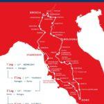 Mille Miglia road map 2021